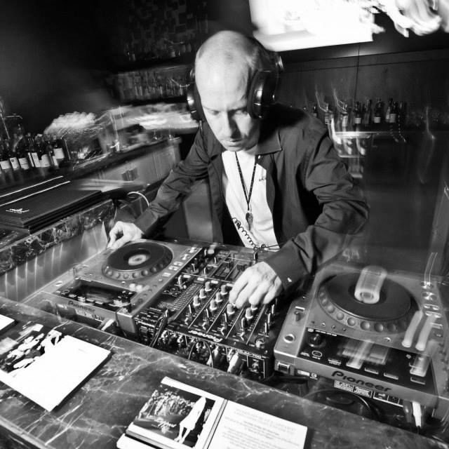 The legendary Cream Club DJ Paul Bleasdale.