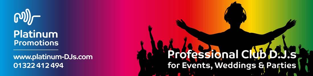 Platinum DJs is a professional DJ hire supplier in Kent.